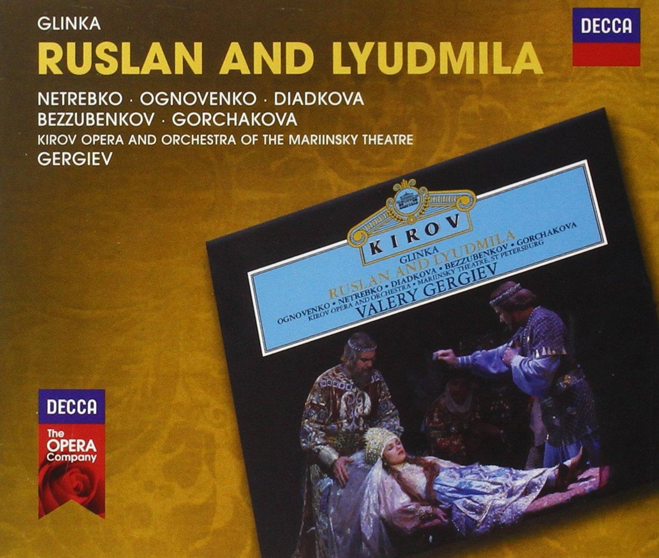 Resultado de imagen para ANNA NETREBKO Glinka Ruslan and Lyudmila
