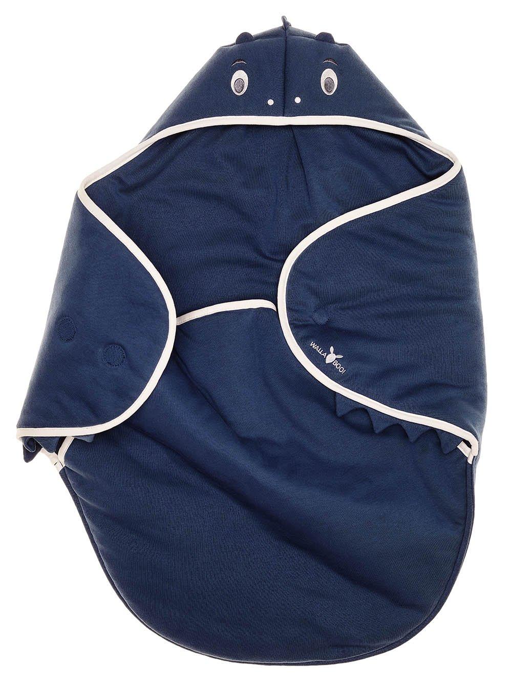 Rose 90 cm x 70 cm pour Coques B/éb/é // Si/èges Auto // pour Landaus // Poussettes ou Lits B/éb/é Cotton Multi-Usages Wallaboo Couverture Enveloppante