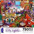 750 Piece City Lights-Las Vegas Gold II