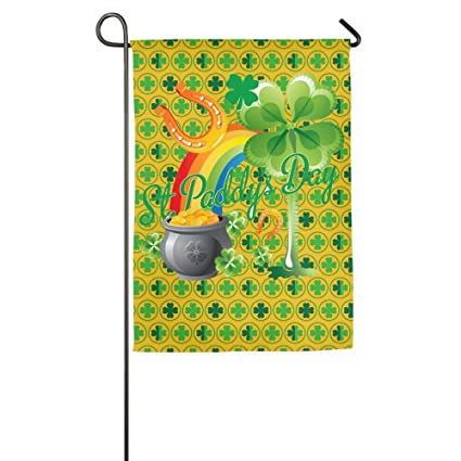 Amazon.com: Palmetto Moon St Patrick Day Home Flag Garden Flag House ...