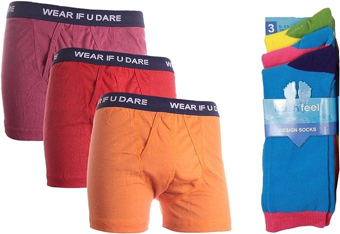 Louise23 Juego de funda RETRO regalo para Boxer pantalones cortos ...