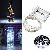 SOLMORE 5M stringa fata luce 5m 50 LED String luce per la decorazione casa matrimonio Natale partito Rame filo della lampada