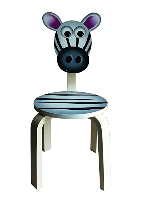 Inskeppa Safari Collection Kidu0027s Zebra Wood Chair. Cute Design And  Functional Chair For Any Room