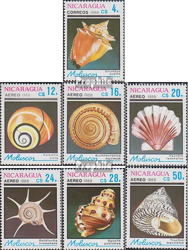 Prophila Collection Nicaragua Michel.-No..: 2887-2893 (Completa ...