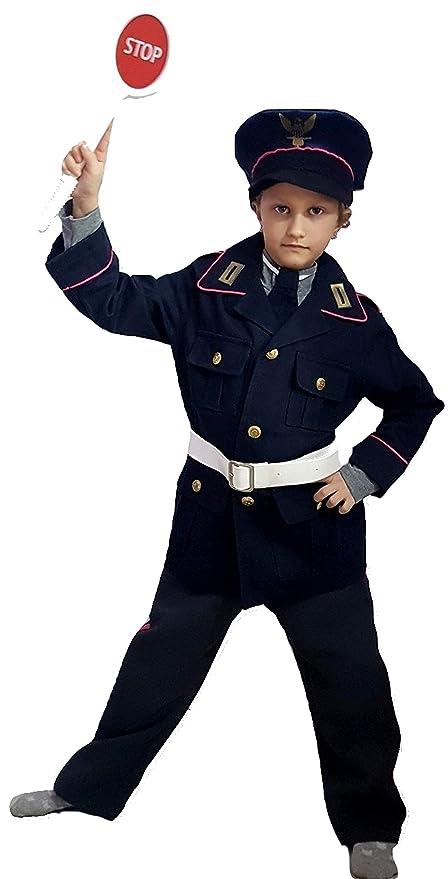 pequeños monelli Traje Poliziotto Niño Vestido Policía de Carnaval ...
