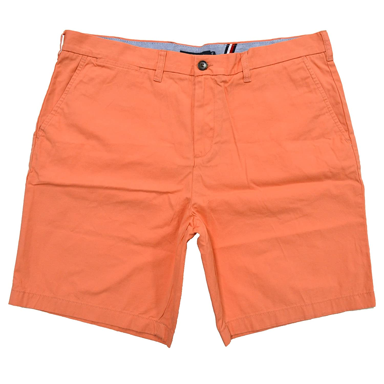 Tommy Hilfiger Men's Core Classic Fit Flat Front Shorts 78A6603