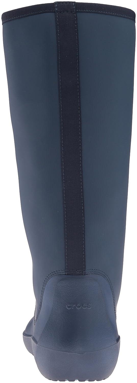 Crocs Women's B01A6LK584 Rain Floe Tall Boot B01A6LK584 Women's 5 B(M) US|Navy 3439d0