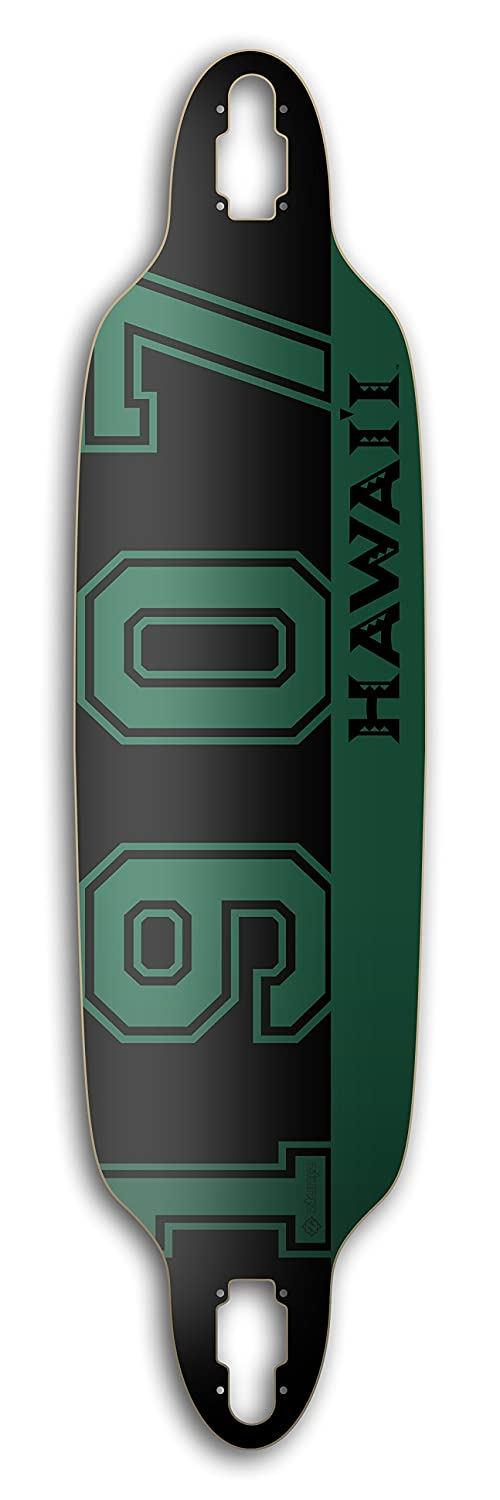 Green/Black/Grey ztuntz skateboards University of Hawaii
