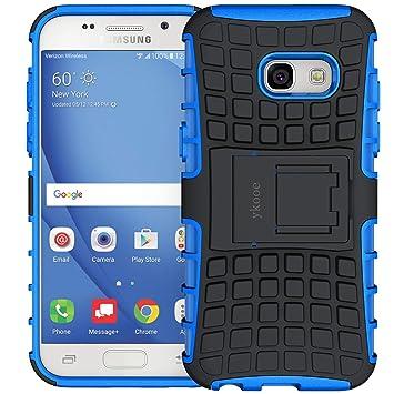 ykooe Funda Galaxy A3 2017, Samsung A3 2017 Teléfono Híbrida de Doble Capa con Soporte Carcasa para Samsung Galaxy A3 2017 4,7