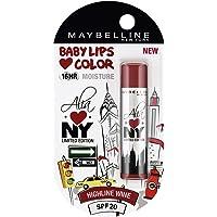 Maybelline Baby Lips Alia Loves New York, Highline Wine, 4g