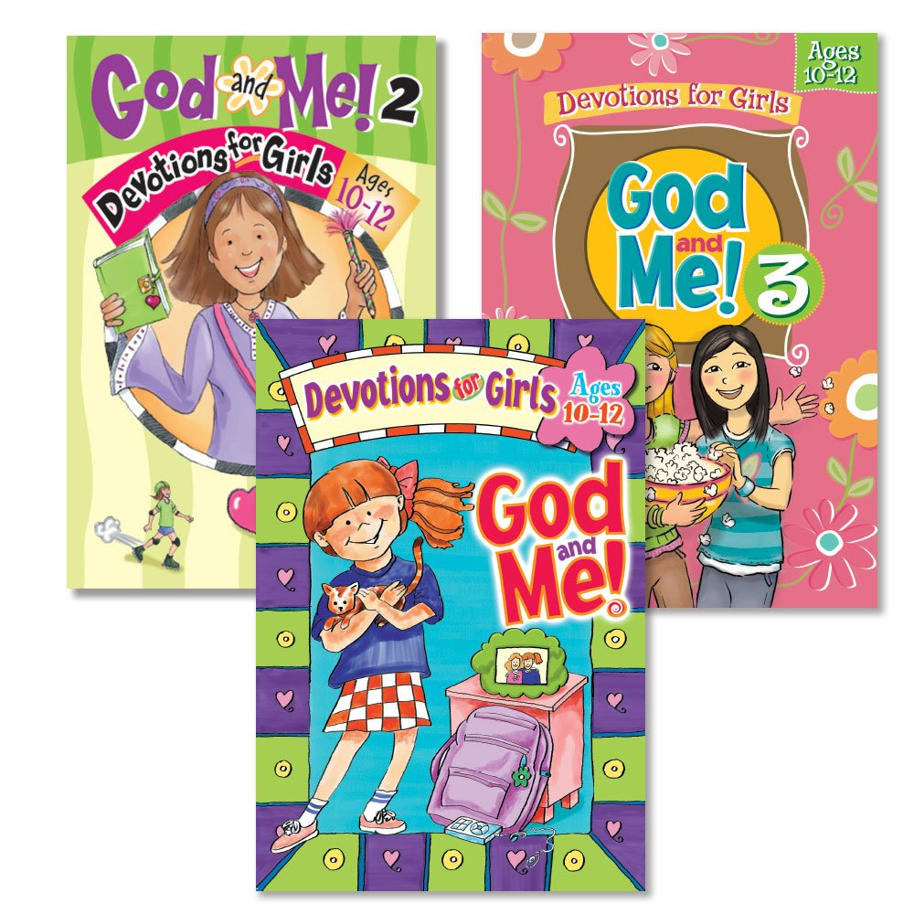 God and Me!® 3 Book Girls Devotional Bundle, Vol. 1-3 - Ages 10-12: Linda  M. Washington, Jeanette Dall, Kathy Widenhouse: 9781584111665: Amazon.com:  Books