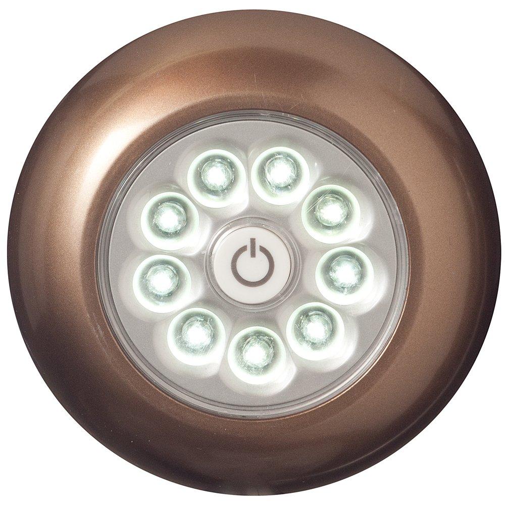 HomyDelight Light It! LED Touch Light 1.1 lbs 4'' 1'' Bronze