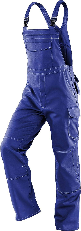 Gr/ö/ße 25 K/ÜBLER Workwear K/ÜBLER SPECIFIQ Arbeitslatzhose blau robuste Arbeitslatzhose Herren-Arbeitslatzhose aus verst/ärkter Baumwolle