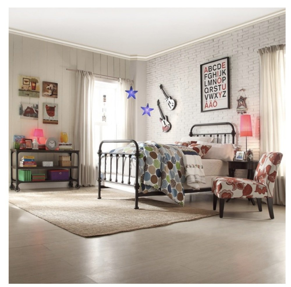 Wrought iron single bed - Amazon Com Wrought Iron Bed Frame Dark Bronze Metal Queen Size Free Shipping Usa Vintage Look Shabby Chic French Country Queen Kitchen Dining