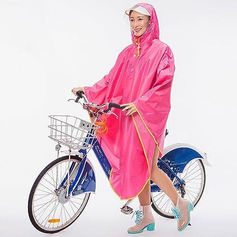 Chubasqueros QFF Bicicleta Impermeable Hombre Adulto Aumentar ...