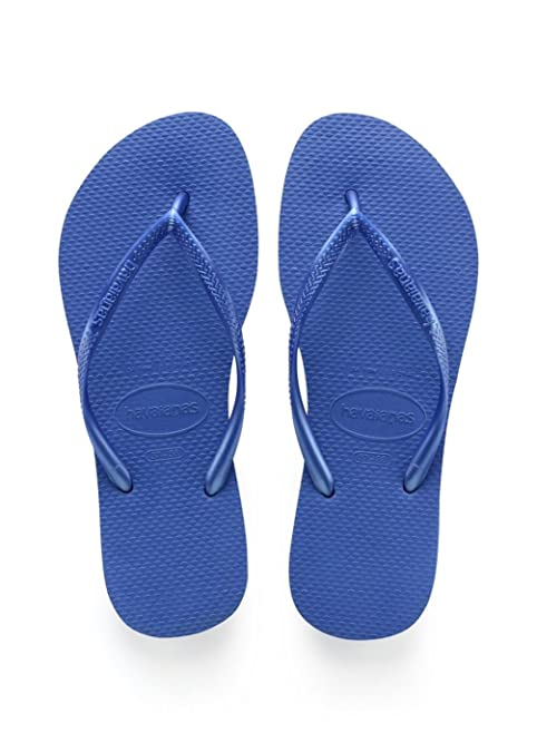 Havaianas - Slim unisex adulto , blu (Blue ik), 36 EU