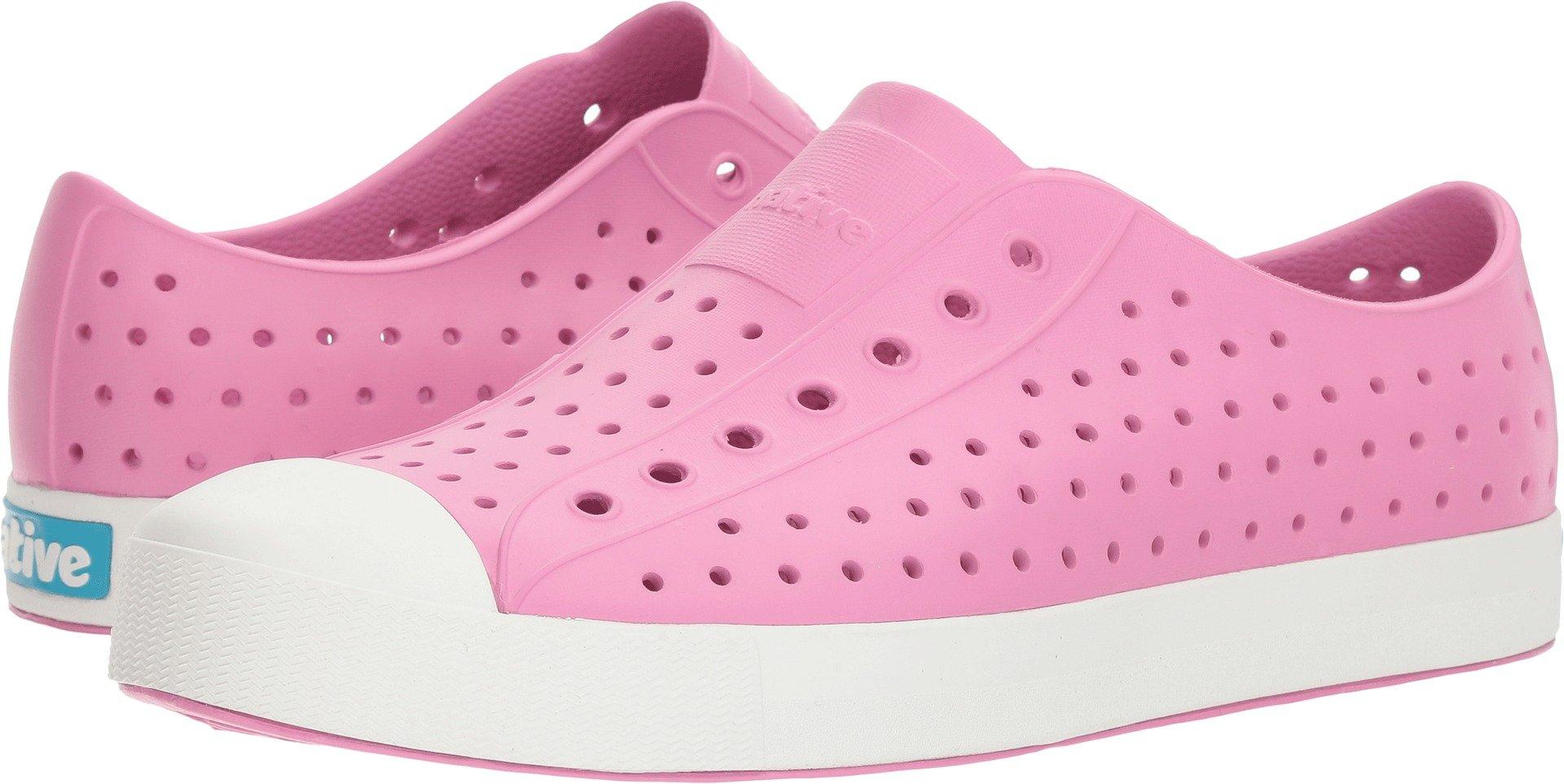 Native Shoes Jefferson Water Shoe, Malibu Pink/Shell White, 12 Men's M US