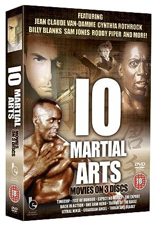 Martial Arts - 10 movies [DVD] [Reino Unido]: Amazon.es: 10 ...