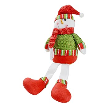saim christmas xmas sitting smiling snowman decorations toys unique popular gifts for kids festive gifts home