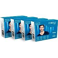 Andropharma Suplementos Alargamiento Pastillas para Tratamiento de Agrandamiento para Hombre (4 cajas 4 meses…