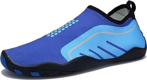 Hommes Femmes Chaussures d'eau Poids Léger Séchage Rapide