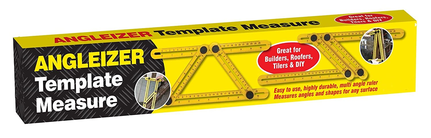 Multi angle ruler angleizer template measure measures angles /& any surface
