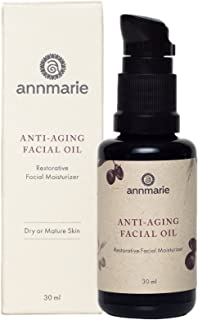 product image for Annmarie Skin Care Anti-Aging Facial Oil - Moisturizing Face Oil For Dry or Mature Skin with Jojoba Oil, Goji Berries + Chia Seed Oil (30 Milliliters, 1 Fluid Ounce)