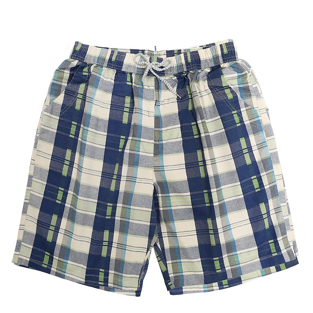 CORPS GEMA Men's Classic Checker Printed Shorts