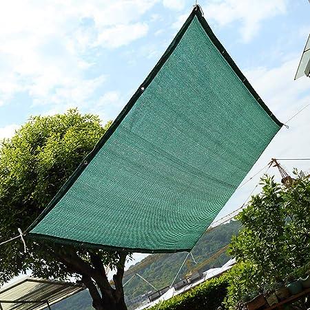 INOBXR Jardín Solar Sombra Paño Sombra Lona Sombra Paño De Tela Protector Solar Protector Solar Red De Doble Cara Aislamiento De Red Cinta Resistente De Tela Malla Plegable,2X3M(6.56X9.84ft): Amazon.es: Hogar