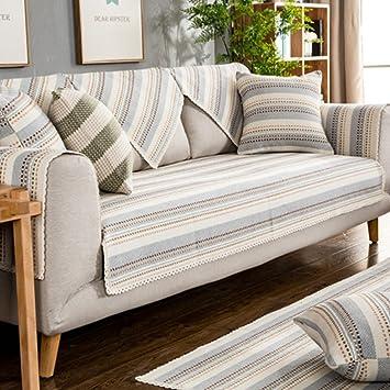 SAFAJINHH Protector para sofás,Color sólido Funda de sofá ...