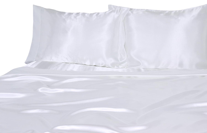 White Tencel Pillowcases Malouf Bedding 300 Tc Tencel