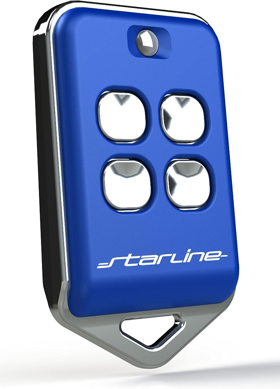 STARLINE Twin 433mhz AU4T, Mando Remoto Distancia Universal para duplicar los mandos Originales frecuencia 433 MHz (433.92) CÓDIGO Fijo. (no códigos rotativos) Made IN EU.