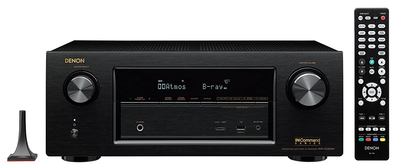 Denon AVR-X2200W 7.2 Channel AV Receiver