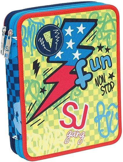 Estuche Maxi SJ Gang Seven Boy: Amazon.es: Oficina y papelería