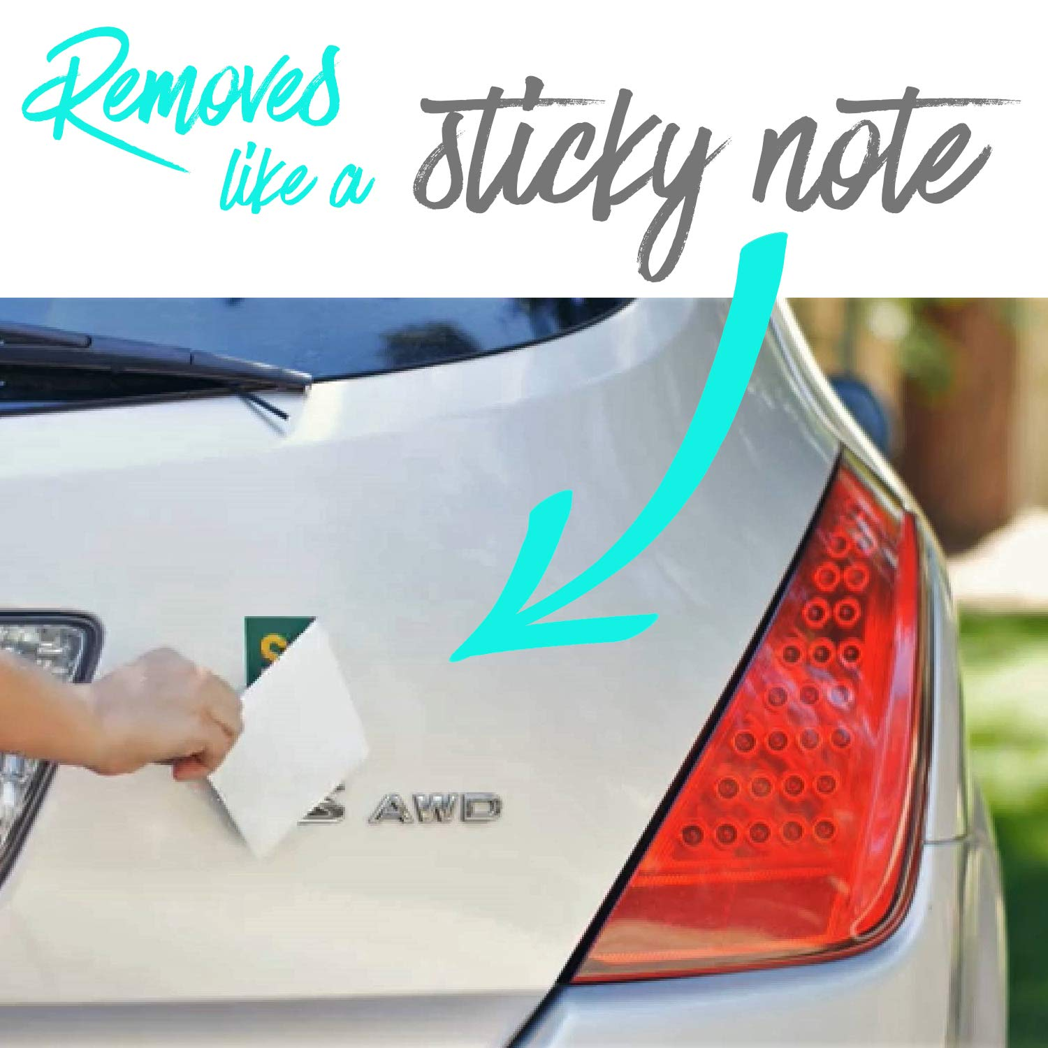Crafted-Brand Student Driver Sticker 3-Pack Keep Your New Driver Safe with a Design Thats Not Embarrassing   Easily Removable Just Like a Magnet but It Sticks Anywhere