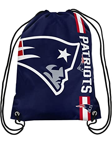 4f6805d7182 Forever Collectibles Men Accessories Pouch NFL Cropped Logo New England  Patriots blue Standard size