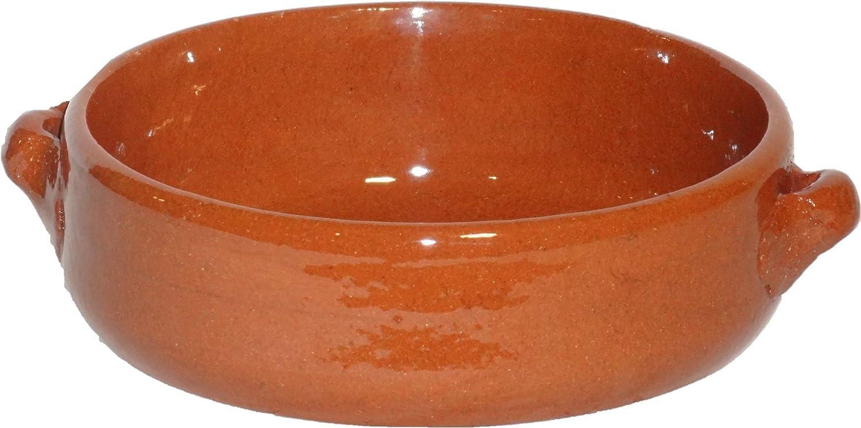Amazing Cookware - Piatto fondo in terracotta naturale 15 cm SB131