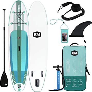 Beyond Marina Ultra-Light Inflatable Stand Up Paddle Board 106 Long 6
