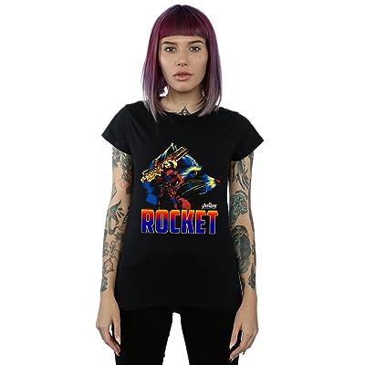 Absolute Cult Avengers Femme Infinity War Rocket Character T-Shirt