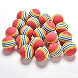 SevenMye 20 Pieces Golf Swing Training Aids Indoor Foam Balls