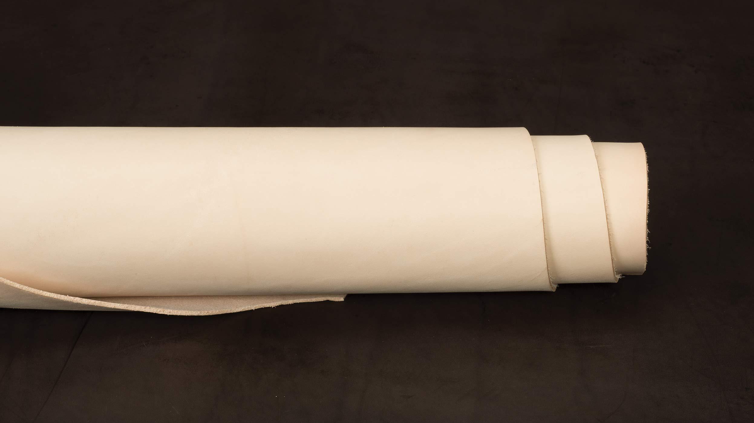 Veg Tanned Single Shoulder, Natural, 8 to 9 oz.