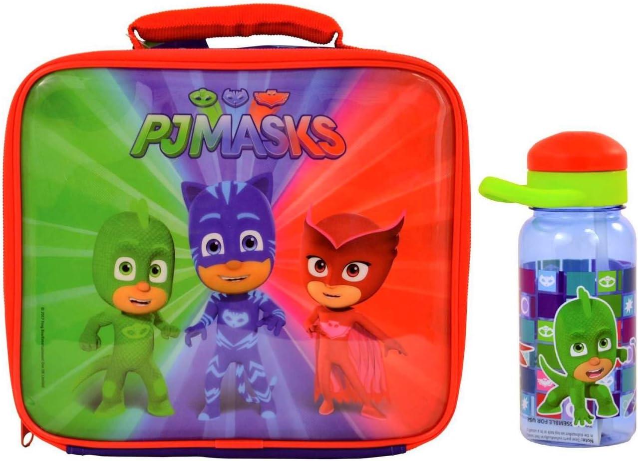 PJ Masks Lunch Bag and Bottle: Amazon.es: Hogar