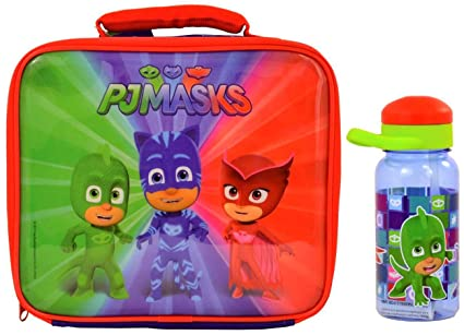 PJ Masks Lunch Bag and Bottle