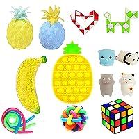 Sensory Fidget Toys Stres Giderici Oyuncaklar 14 Adet Duyusal Kıpır Kıpır Oyuncak Seti, Çocuk Yetişkinler İçin Stresi ve…