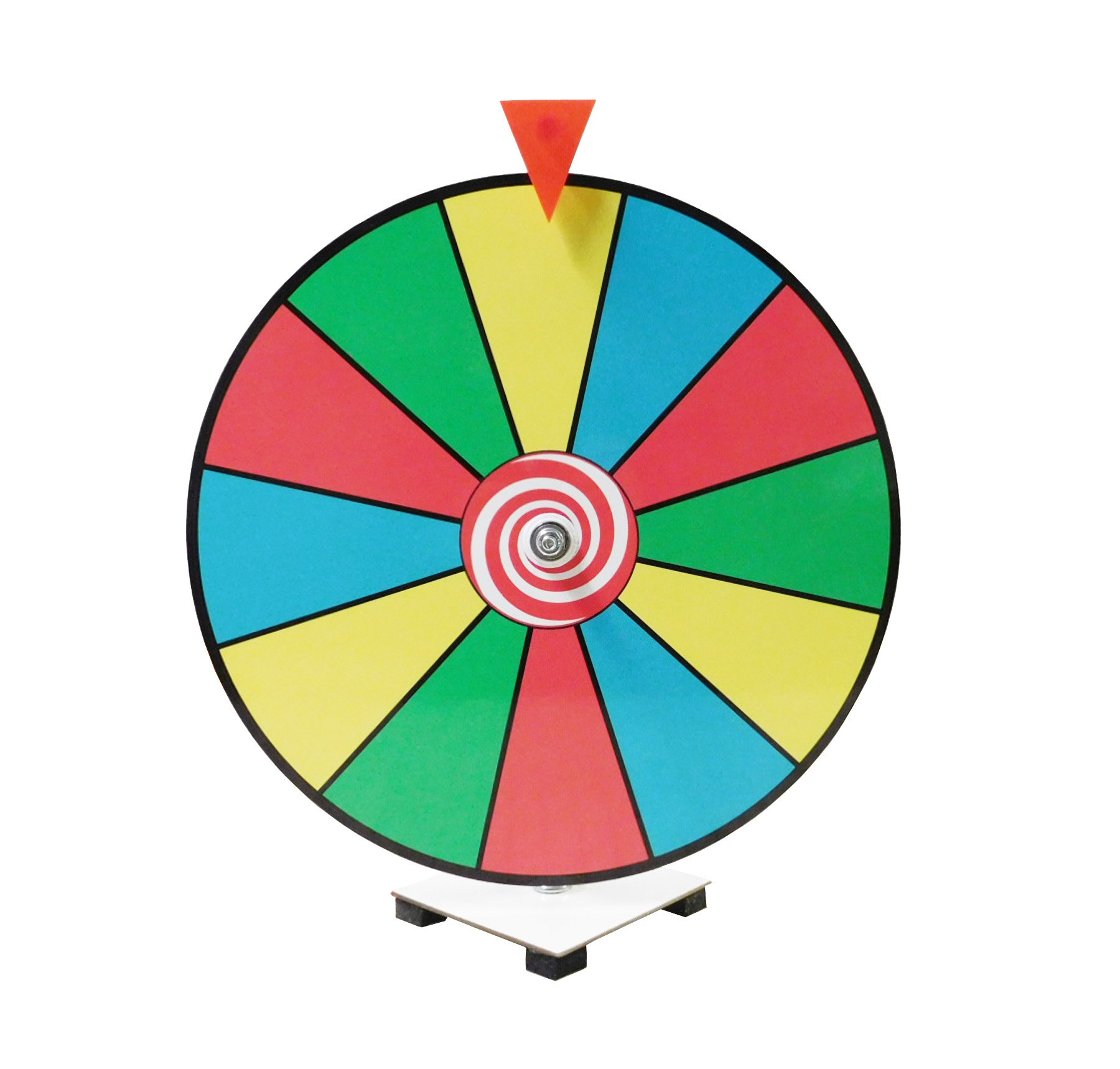 Prize Wheel Spinner 16'' Color Dry Erase Kid Safe Pegless Design