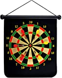 Crystallove Rolling Safety Magnetic Dartboard Sets of 6pcs Reversible Dart Flights for Leisure Sports and Games (BL-1020A)