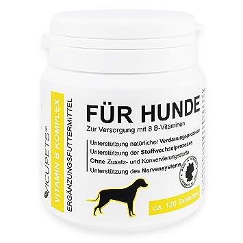 vicupets® Vitamina B complejo para perros | 8 B de vitaminas y minerales, para