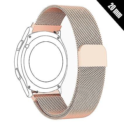 Amazon.com: Antube - Correa para reloj de pulsera de 0.787 ...