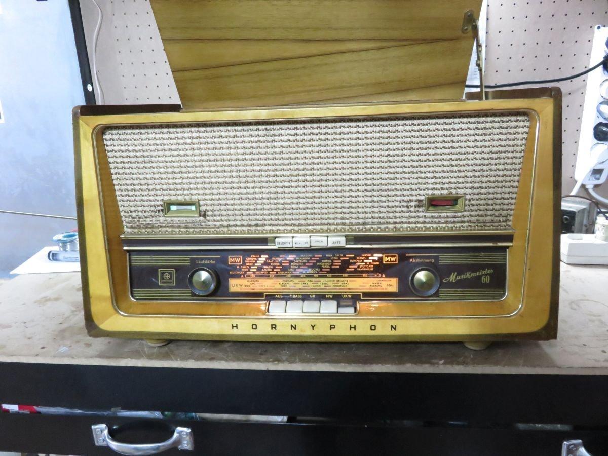 ANTIGUA RADIO TOCADISCOS HORNYPHON Musikmeister 60 WH489A ...