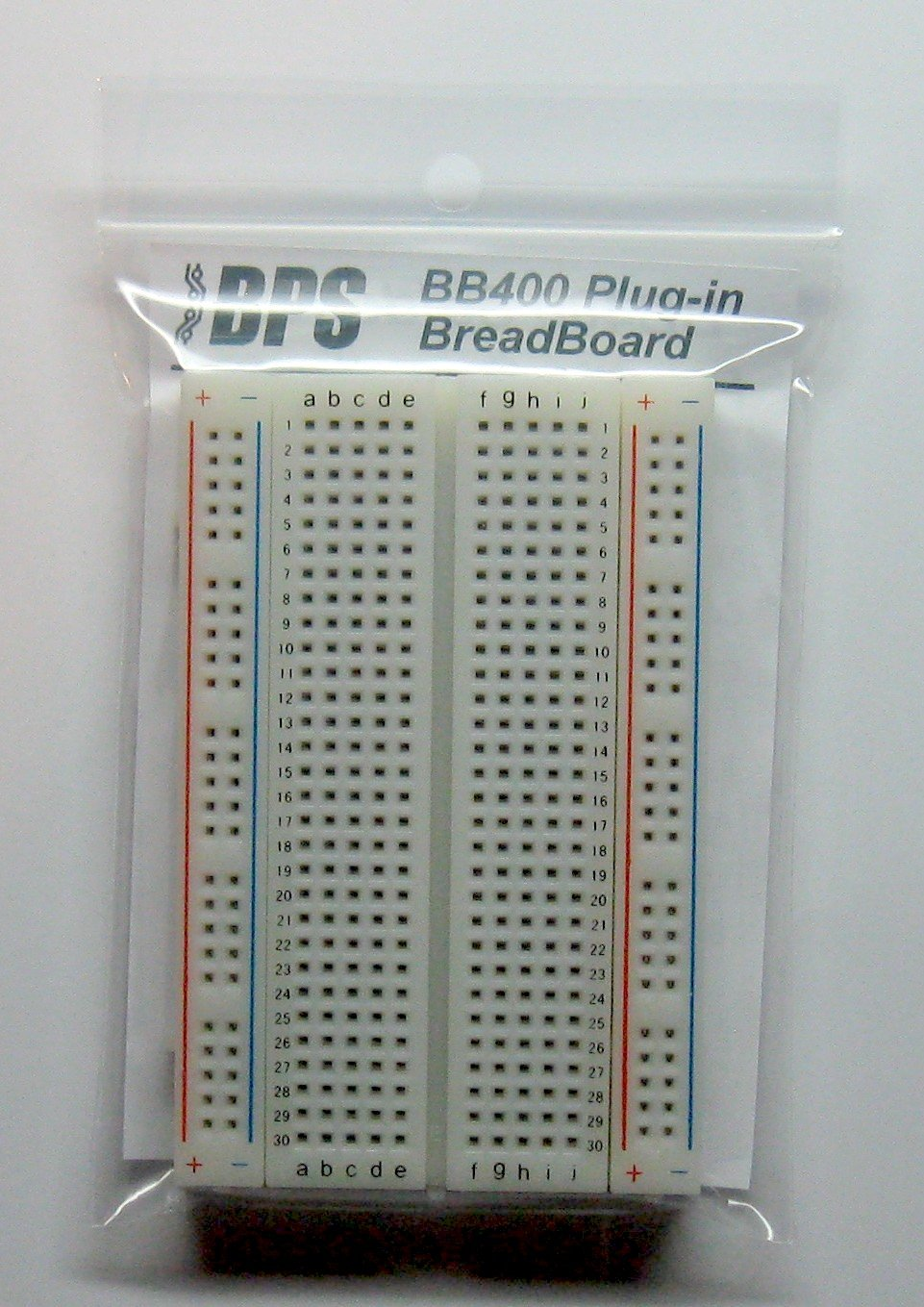 Bb400 Solderless Plug In Breadboard 400 Tie Points 4 Stick Well The Plexiglass Here It Is Ready Power Supply Circuit Rails 33 X 22 03in 84 55 9mm Toys Games